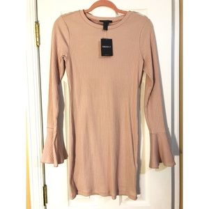 NWT Forever 21 Pink Sweater Dress